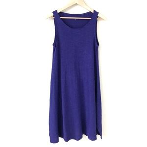 Eileen Fisher Sleeveless Hemp Blend Dress